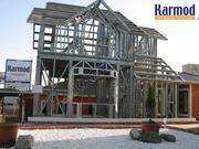 Каркасные дома Кармод,  проекты домов в Астане,  Казахстан